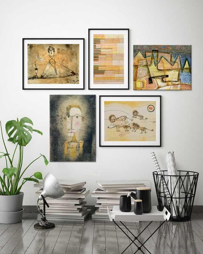 5 obrazów Paula Klee