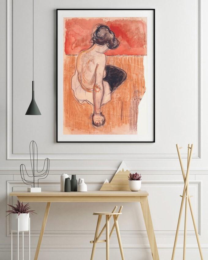 'Sitting Model' Edvard Munch