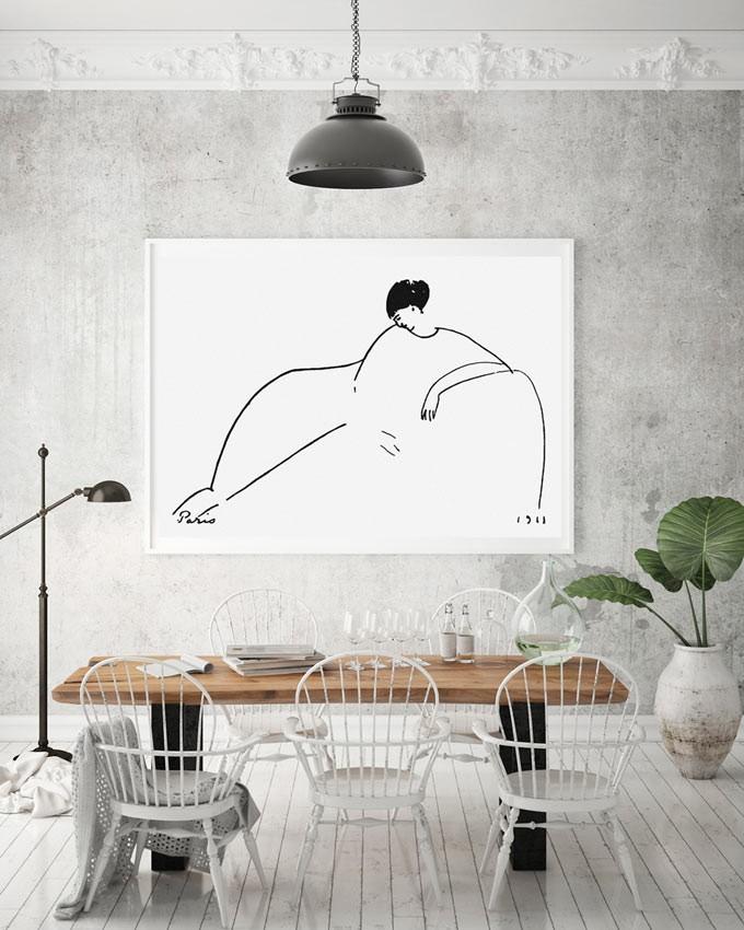 'Anna Akhmatova' Amedeo Modigliani