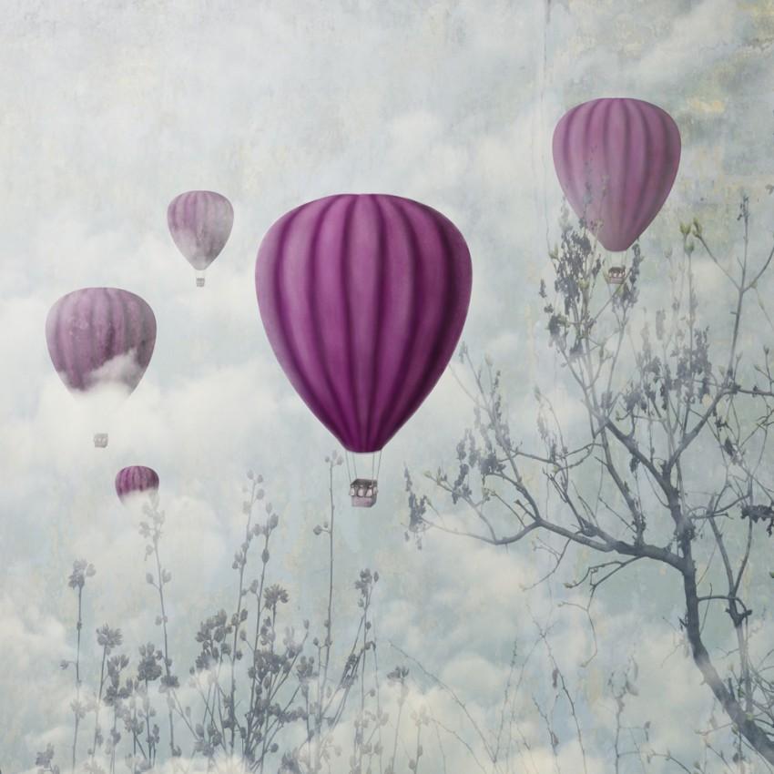 Obraz 'Pink Baloons'