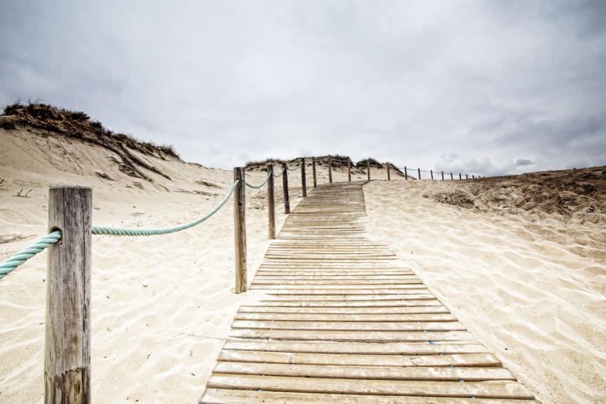 Obraz na płótnie 'Droga do plaży'