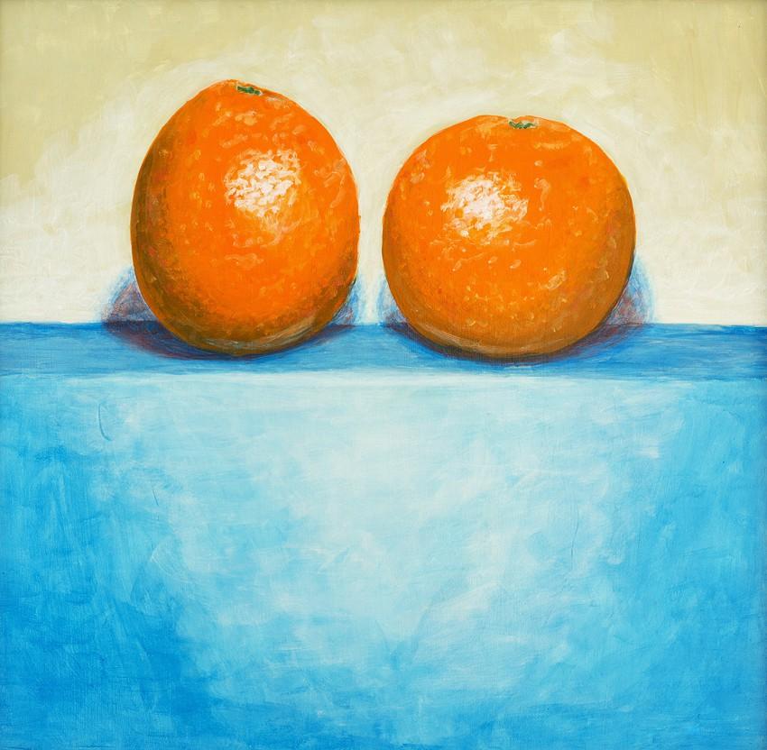 Obraz 'Dwie pomarańcze'