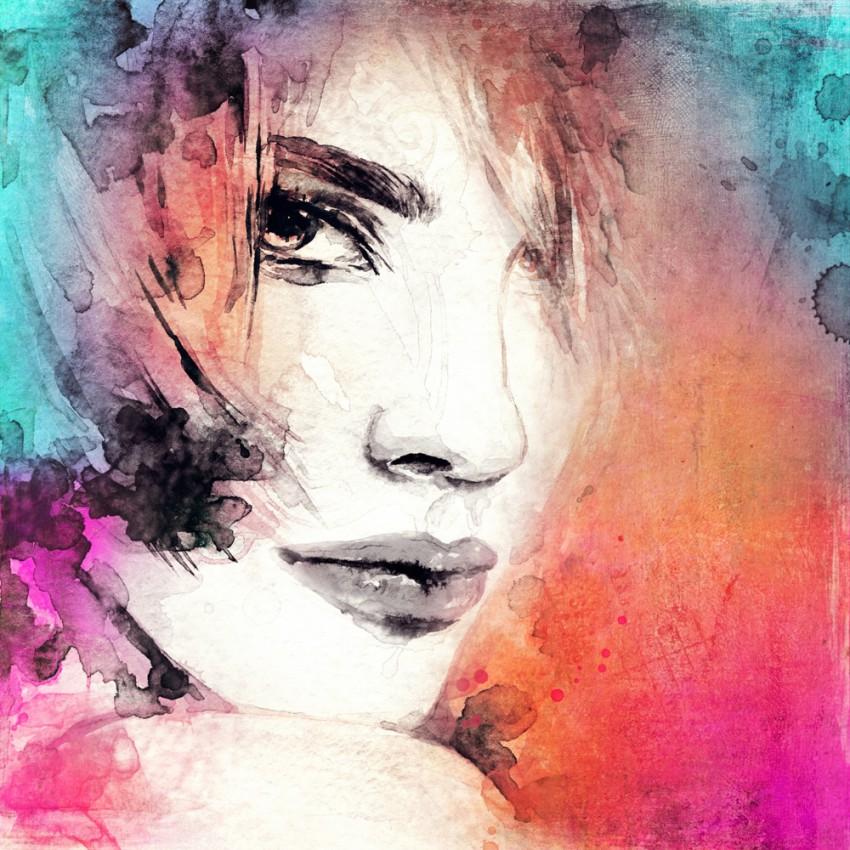 Obraz 'WOMAN FACE'
