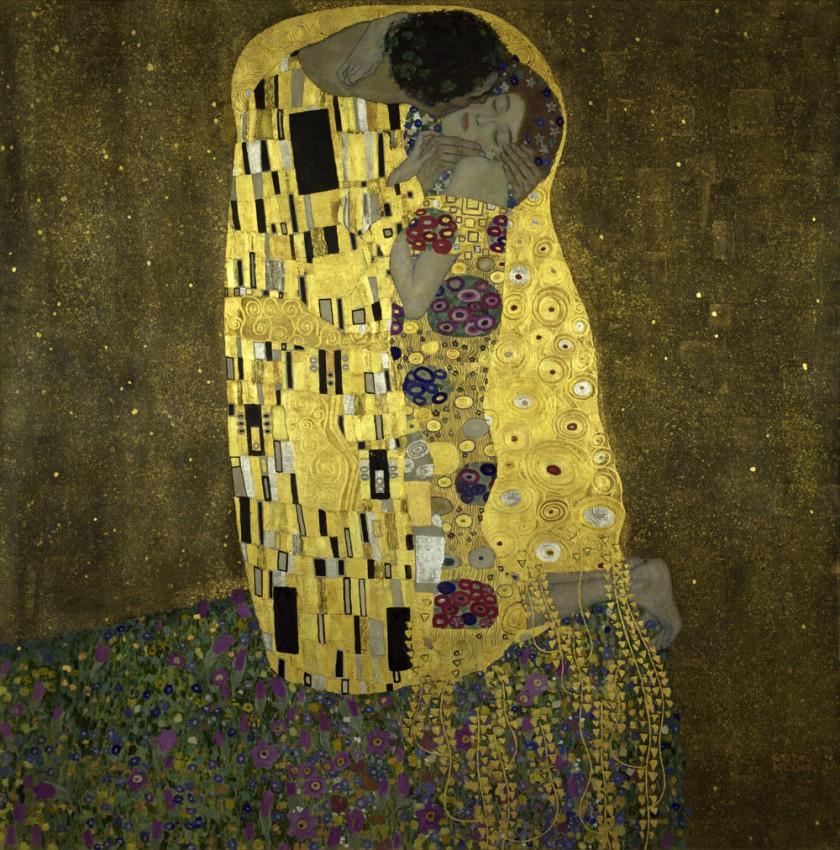 Reprodukcja 'Pocałunek - The Kiss - Gustav Klimt'